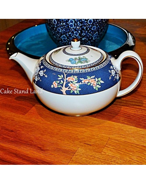 (SOLD) WEDGWOOD BLUE SIAM TEA SET WITH TEAPOT OPTION